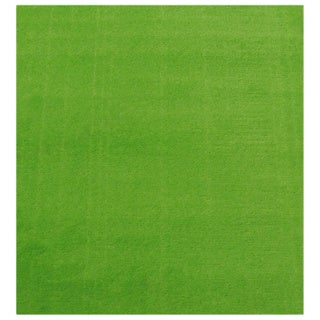 Solid Lime Green Accent Rug (3'3 x 4'8)