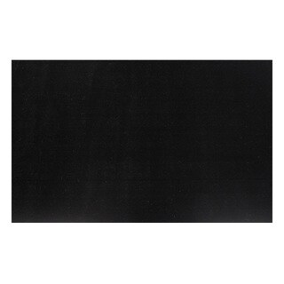 Solid Black Area Area Rug (3'3 x 4'8)