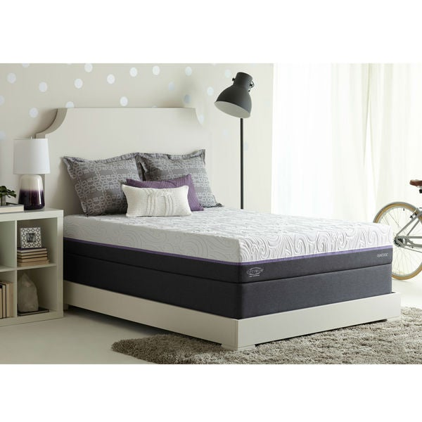 sealy optimum radiance gold medium kingsize gel memory foam mattress set - Sealy Memory Foam Mattress