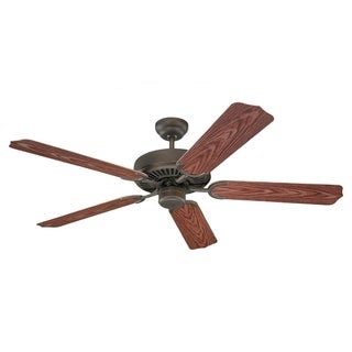 Sea Gull Lighting 52-inch Panorama Roman Bronze Outdoor Fan