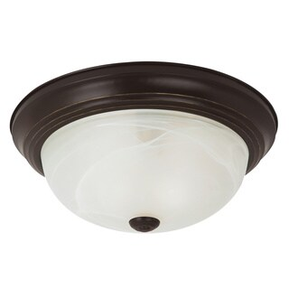 Sea Gull Windgate 2-light Heirloom Bronze Flushmount