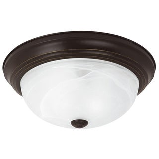 Sea Gull Windgate 3-light Heirloom Bronze Flushmount