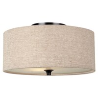 Tan Flush Mount Lighting