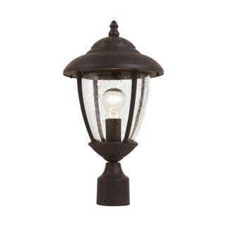 Sea Gull Lambert Hill 1-light Oxford Bronze Outdoor Post Lantern