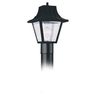 Single-light Outdoor Post Lantern Fixture