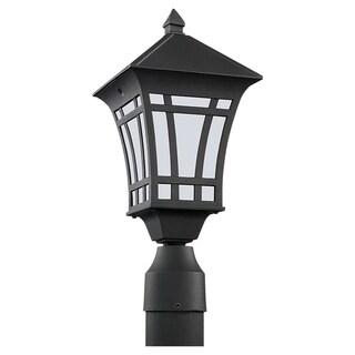 One-light Outdoor Post Lantern Fixture