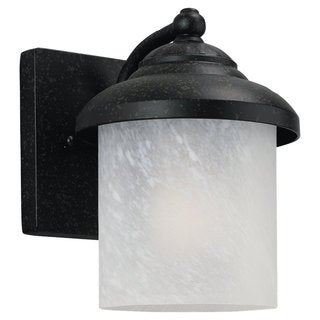 Sea Gull Yorktown 1-light Forged Iron Wall Lantern