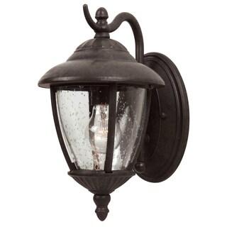 Sea Gull Lambert Hill 1-light Oxford Bronze Outdoor Wall Lantern