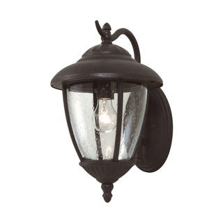 Sea Gull Lambert Hill 1-light Oxford Bronze Out Door Wall Lantern