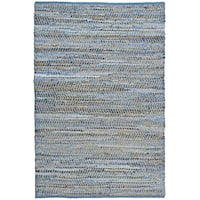 Blue Jeans Woven Denim & Hemp Area Rug - 10' x 14'