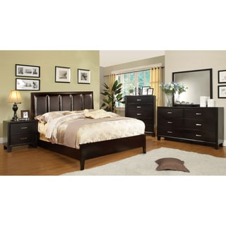 Furniture of America Rafael Contemporary 4-Piece Bedroom Set