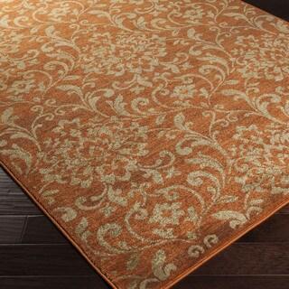 Artfully Crafted Amersham Damask Rug (2'7 x 7'3)