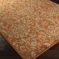 Artfully Crafted Amersham Damask Area Rug (2'7 x 7'3)