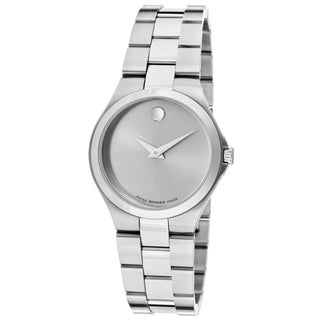 Movado Women's 0606559 Classic Silvertone Stainless Steel Watch