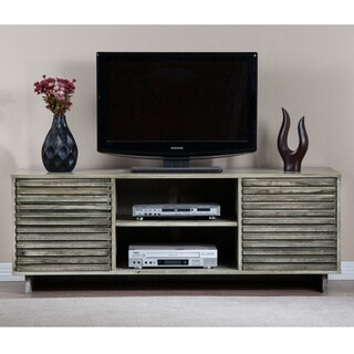 Palm Canyon Array Light Rustic Grey Entertainment Center