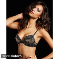 Maidenform Comfort Devotion Embellished Plunge Push-Up Bra