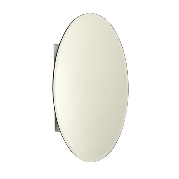 Zenith Frameless Oval 30 inch Aluminum Medicine Cabinet. Zenith Frameless Oval 30 inch Aluminum Medicine Cabinet   Free