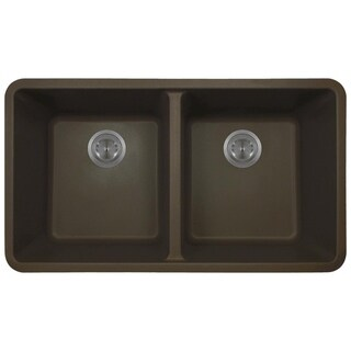802 Quartz Double Equal Bowl Kitchen Sink