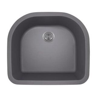 MR Direct 824 D-Bowl TruGranite Kitchen Sink