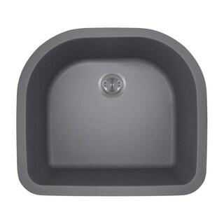 824 D-Bowl Composite Granite Kitchen Sink