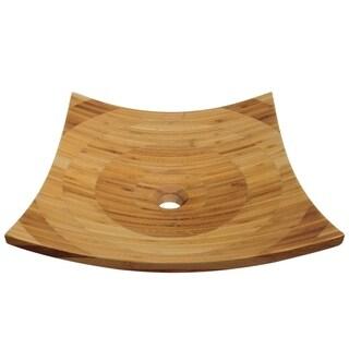 892 Bamboo Vessel Bathroom Sink - Brown