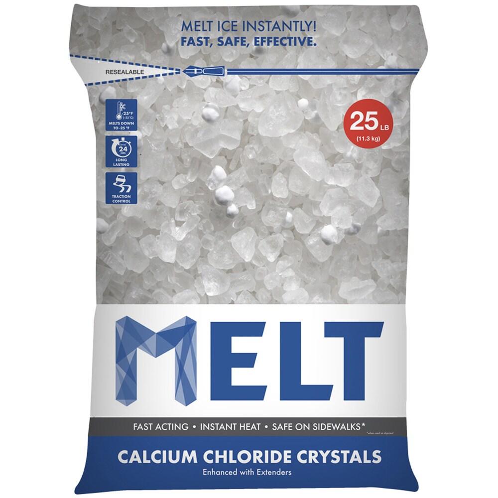 Snow Joe Melt 25 Lb. Resealable Bag Calcium Chloride Crys...