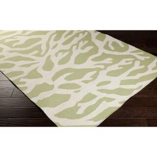Hand-Woven Kaylee Wool Rug (9' x 13')