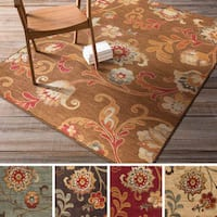 Artfully Crafted Bury Polypropylene Rug (7'10 x 9'10)
