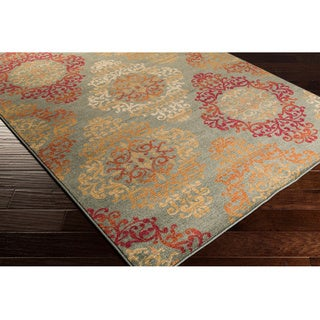 Artfully Crafted Arlesey Damask Rug (2'7 x 7'3)