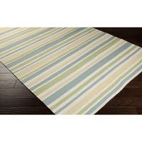 Hand-Woven David Wool Area Rug - 9' x 13'