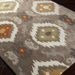 Artfully Crafted Rawlins Ikat Polyester Area Rug-(2' x 3')