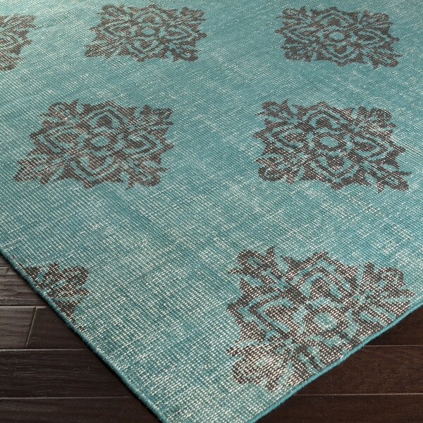 Hand-knotted Crediton Contemporary Wool Area Rug - 2' x 3'