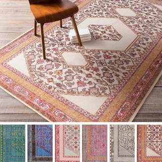 Hand-knotted Amesbury Traditional Wool Rug (5'6 x 8'6)