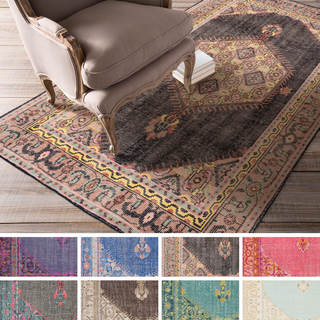 Hand-knotted Alford Traditional Wool Rug (8' x 11')