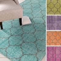 Hand-knotted Beverly Contemporary Wool Area Rug
