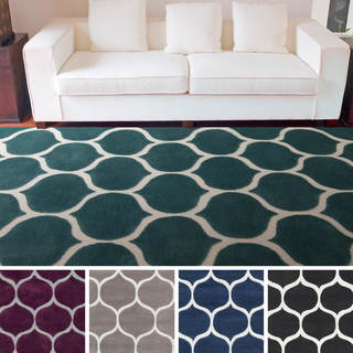 Artfully Crafted Bremerton Geometric Polyester Area Rug-(5' x 8')