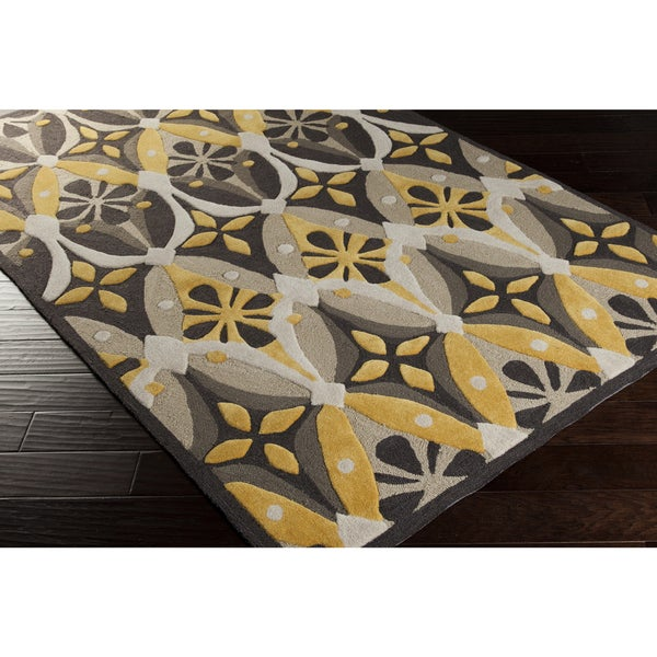 Artfully Crafted Gretchen Floral Area Rug (5' x 8')