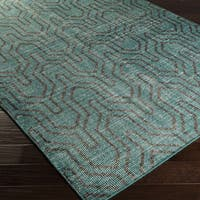 Hand-knotted Bridport Contemporary Wool Area Rug (2' x 3')