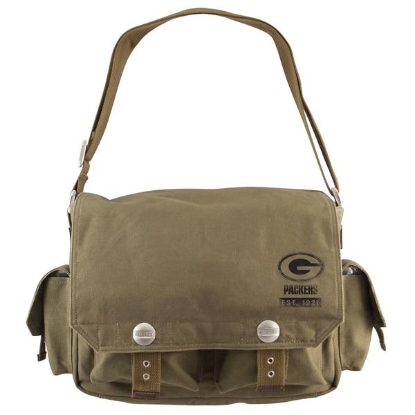 Little Earth Green Bay Packers Prospect Messenger Bag