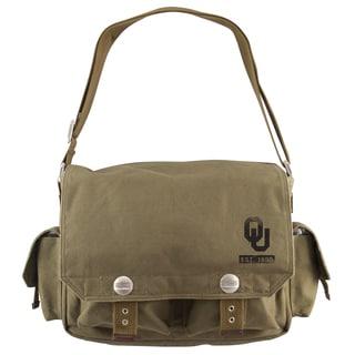 Little Earth Oklahoma Sooners Prospect Messenger Bag