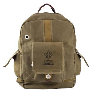 Little Earth New Orleans Saints Prospect Backpack|https://ak1.ostkcdn.com/images/products/9602402/P16788418.jpg?impolicy=medium
