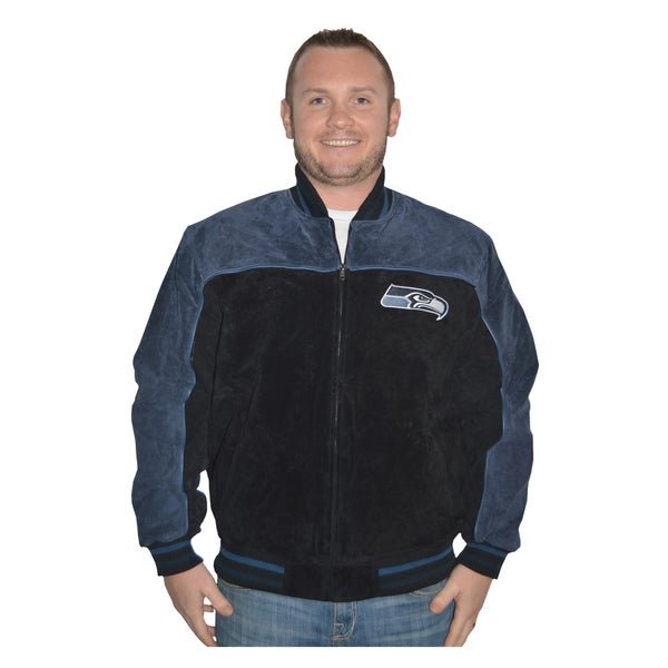 Seattle Seahawks NFL Suede Leather Jacket