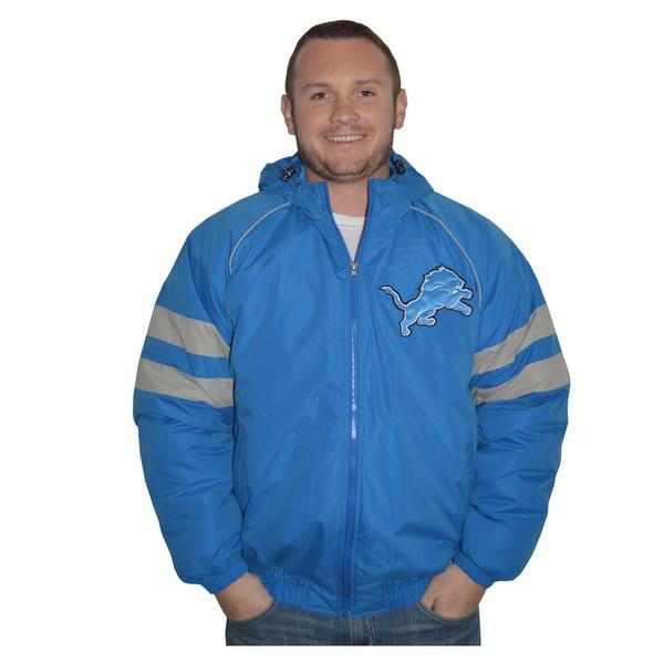 Detroit Lions NFL Heavyweight Hooded Jacket
