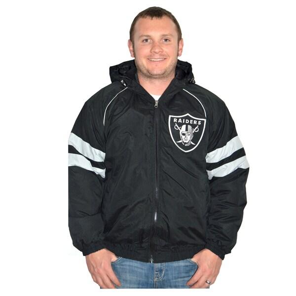 Oakland Raiders NFL Heavyweight Hooded Jacket