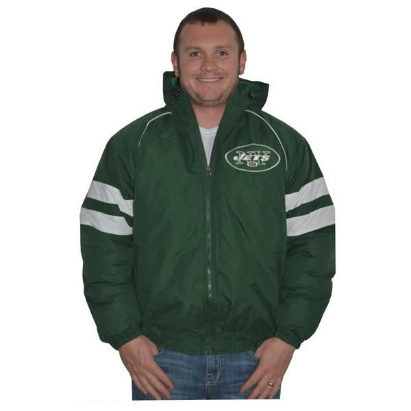 New York Jets NFL Heavyweight Hooded Jacket