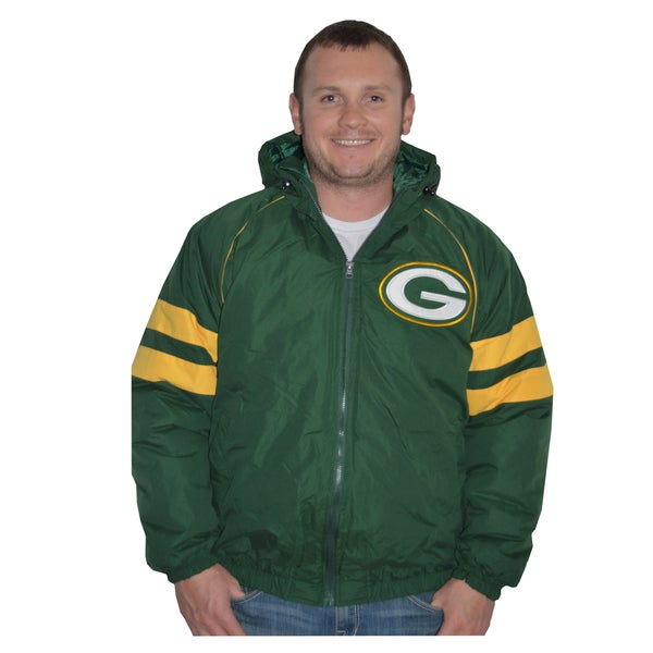 Green Bay Packers NFL Heavyweight Hooded Jacket