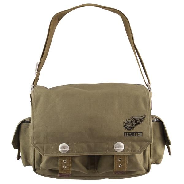 Little Earth Detroit Red Wings Prospect Messenger Bag