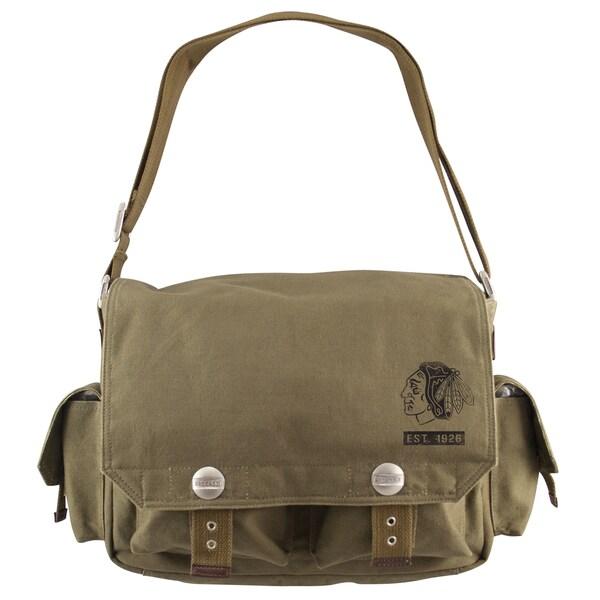 Little Earth Chicago Blackhawks Prospect Messenger Bag