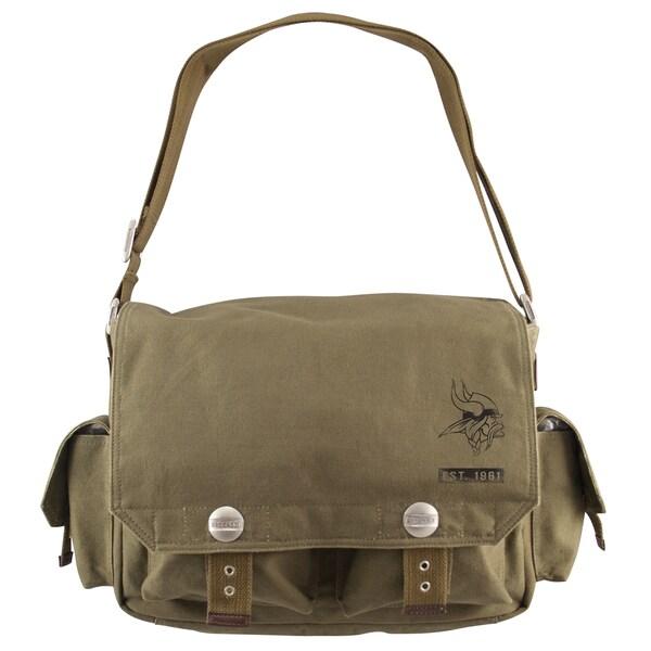 Little Earth Minnesota Vikings Prospect Messenger Bag