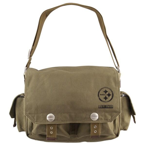 Little Earth Pittsburgh Steelers Prospect Messenger Bag